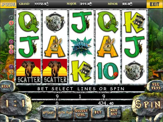 jungle slot games
