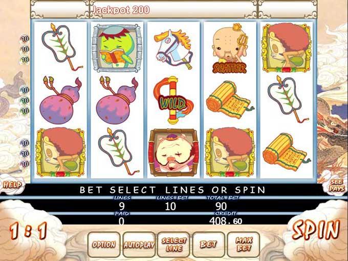 reddragon88 crazy monkey game