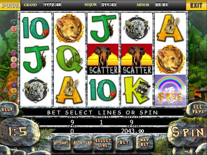 jungle slot game online