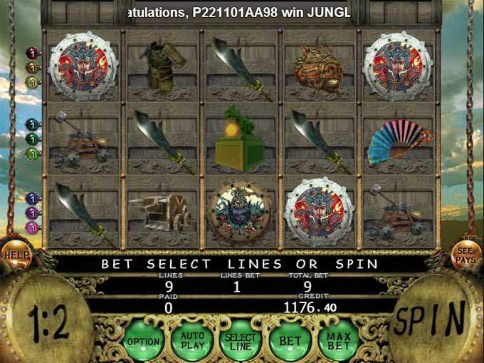reddargon88 sango warload play