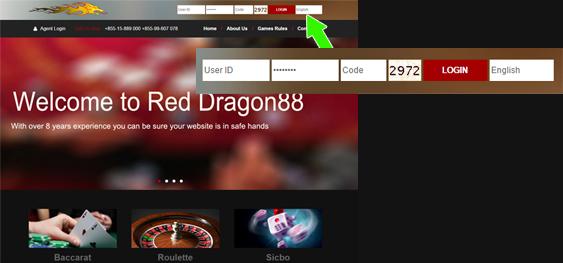 login reddragon88 online